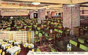 4354  IL Chicago 1950's  Y.M.C.A. Hotel,  Oriole Dinning and Room  Cafet...