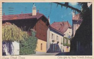 Switzerland Geneve Street Scene 1952 Trans World Airlines
