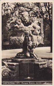 RP; Barcelona, Parque Rivera: Jarron, Cataluna, Spain, PU-1950