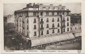 Morocco - L'Hotel Excelsior casablanca france 01.26