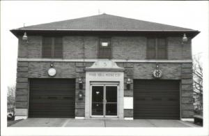 Pine Hill NY Fire Station 1987 Real Photo Postcard