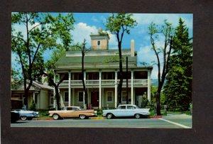 UT Beehive House Brigham Young Latter Day Saints Salt Lake City Utah Postcard