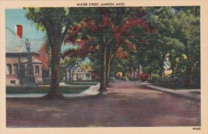 Massachusetts Marion Scene On Water Street