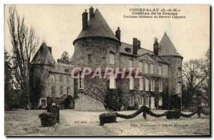 Old Postcard Courpalay Chateau de la Grange Old General Lafayette's residence