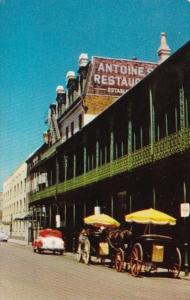 Louisiana New Orleans Antoine's Restaurant On St Louis Street