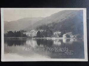 Cumbria: The Prine of Wale Lake Hotel, GRASMERE RP c1922 - Lake District