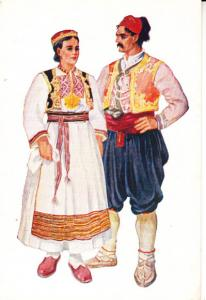 Croatian National Costume - Vladimir Kirin