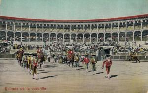 Spain bullfighting Entrada de la cuadrilla 01.76