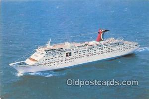 Ship Postcard Post Card Miami, FL, USA Fun Ship Tropicale, Carnival Cruise Li...