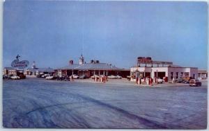 Covey's Little America Wyoming Postcard Highway 30 Roadside c1950's Unused
