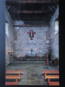 Essex Church of St.Peter AD Murum Interior Bradwell Juxta Mare, Bradwell-on-Sea)