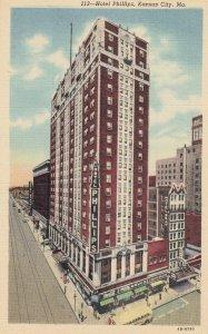 KANSAS CITY, Hotel Phillips, Missouri, 30-40s