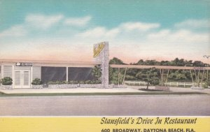 Florida Daytona Stansfield's Drive In Restaurant sk426