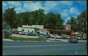 080521 HEPPNER'S H&H BAKERY AND RESTAURANT PINCONNING MI VINTAGE POSTCARD 1960S