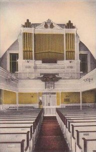 Pennsylvania Philadelphia Gloria Dei Old Swedes Church Organ Loft Albertype