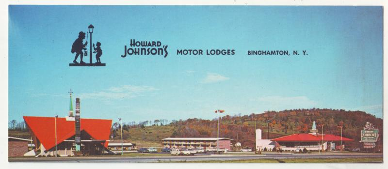 P604 JLs 1974 howard johnson,s route 434 vestal parkway binghampton ny