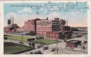 Oklahoma Oklahoma City Stock Yards Scene 1919