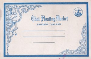 Wad Sai Thai Floating Market Book Of 11x Thailand Postcard s