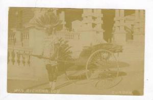 RP, Ricksha Boy, Durban, South Africa, 1920-40s