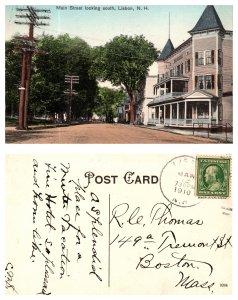 Main Street looking south, Lisbon, New Hampshire (8616)