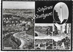 Germany. Stuttgart. Schones. Beautiful.  mint card.