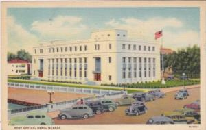 Nevada Reno Post Office 1942 Curteich