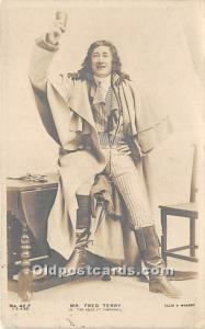 Mr Fred Terry In The Scarlet Pimpernel Theater Actor / Actress 1906