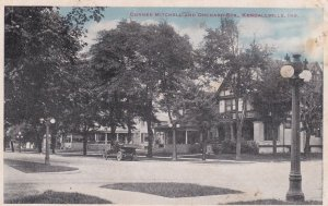 KENDALLVILLE, Indiana, PU-1919; Corner Mitchell and Orchard Sts.