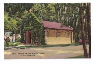 Nombre de Dios Mission St Augustine Florida FL Linen