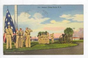 Retreat, Camp Davis, North Carolina, PU-1944