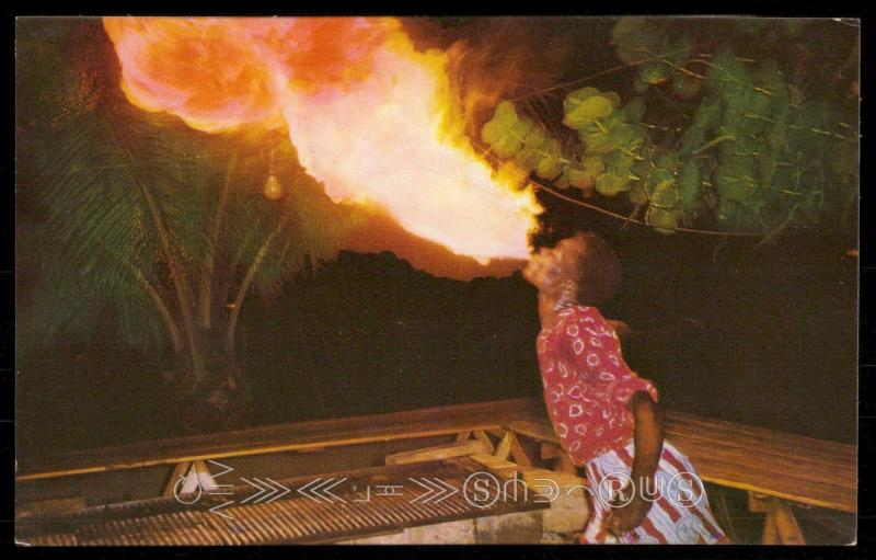 The Fire Eater, Jamaica