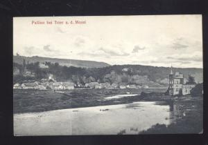 PALLIEN BEI TRIER A.D. MOSEL GERMANY ANTIQUE VINTAGE POSTCARD