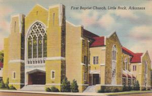 First Baptist Church, Little Rock, Arkansas, 1930-1940s