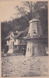 Spa , BELGIUM , 00-10s Windmill, Pigeons du Parc