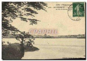 Old Postcard The Far Viscount St Servan