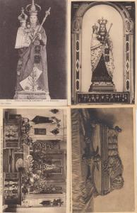 Notre Dame De Laghet French 4x Religious France Old Postcard s