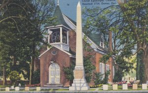 DOVER, Delaware, 1930-40s; Christ Episcopal Church, Erected 1734
