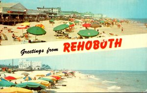 Delaware Greetings From Rehoboth 1972