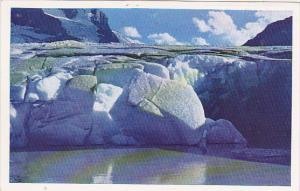 Canada Athabasca Glacier Ice Front