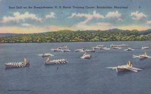 Maryland Bainbridge Boat Drill On The Susquehanna Naval Training Center