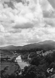 France Cambo les Bains Vallee de la Nive Pont River Bridge Panorama