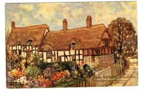 Anne Hathaway`s Cottage, Stratford on Avon, England