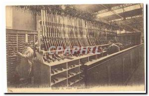 Manufacture Francaise ladies and Saint Etienne cycles Old Postcard Recipe gun...