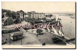 Postcard Old Port Honfleur