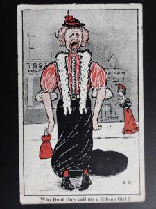 C. G. alt Lady Thema  Why Tue nicht They Call Me A Gibson Mädchen ? c1907