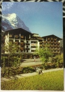 Switzerland Derby Hotel Grindelwald - posted 1983