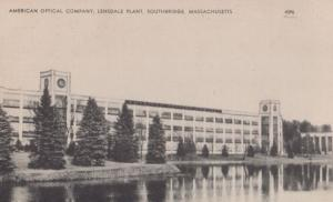 American Optical Company Lensdale Plant Southbridge MA Worcester Postcard