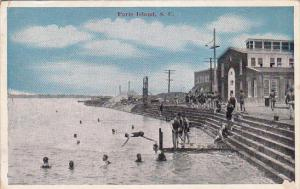Swimming , PARRIS ISLAND , South Carolina, 00-10s