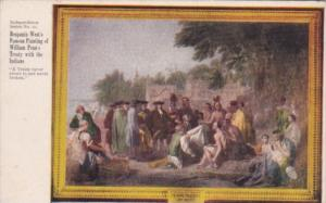 Benjamin West's Famous Painting Of Willam Penn's Treaty With The Indians