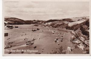 Post Card Devon The River Dart from Kingswear